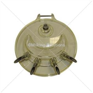 MS Lid Transparent Suspended Bucket