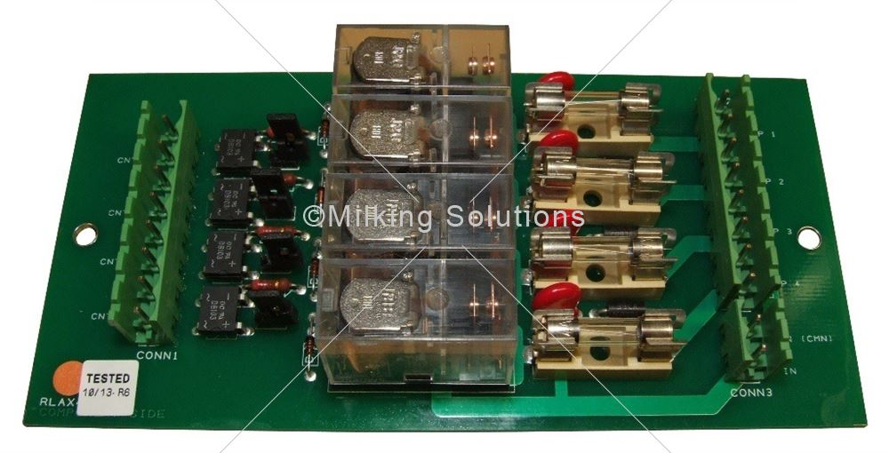 MS PCB for Feed Relay GM3000 v2 (12/24V AC/DC)